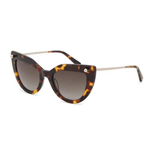 DSQUARED2 DQ0278 52P 51 Monturas de gafas, Marrón (Avana ScuraVerde Grad), 51.0 Unisex Adulto