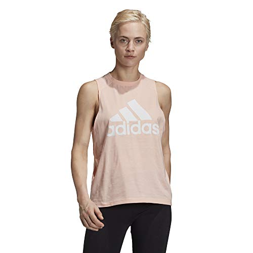 adidas W BOS CO Tank Camiseta sin Mangas, Mujer, corneb, 2XL