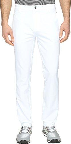 adidas Golf Men's Golf Adi Ultimate 3 Stripe Pants, White, Size 40/30