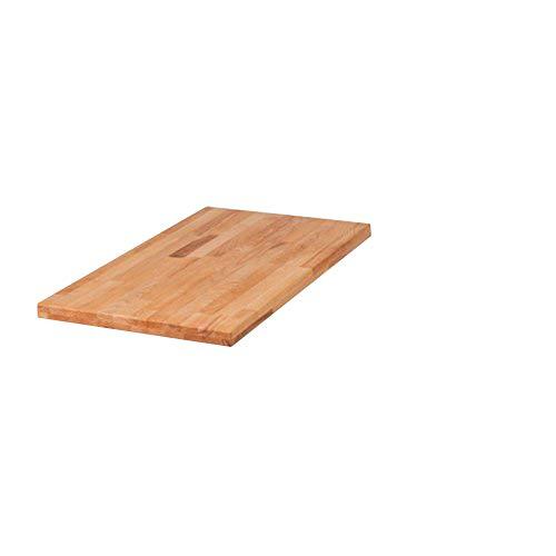SAM® Ansteckplatte für Tisch Horst aus Kernbuche 45 x 90 cm