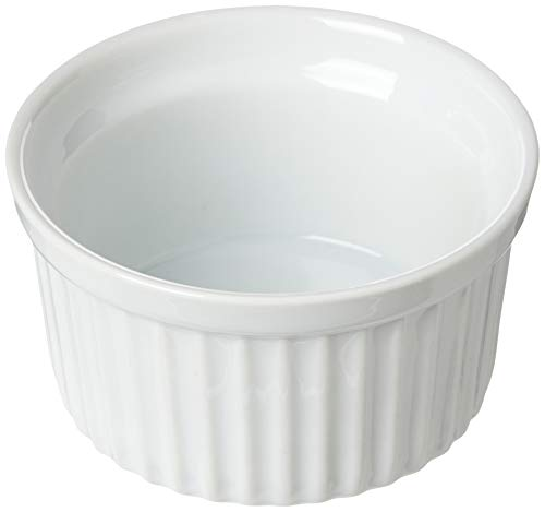Kitchen Craft - Contenitore in porcellana, 90 x 45 mm, colore: Bianco