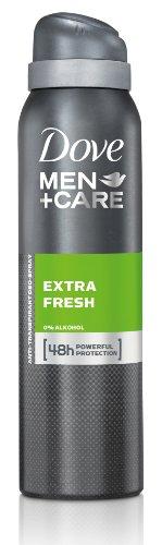 Dove Men + Care Lot de 6 déodorants en spray Extra frais 150 ml