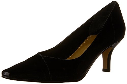 Bella Vita Women's Wow Pump,Black Patent,5.5 B US