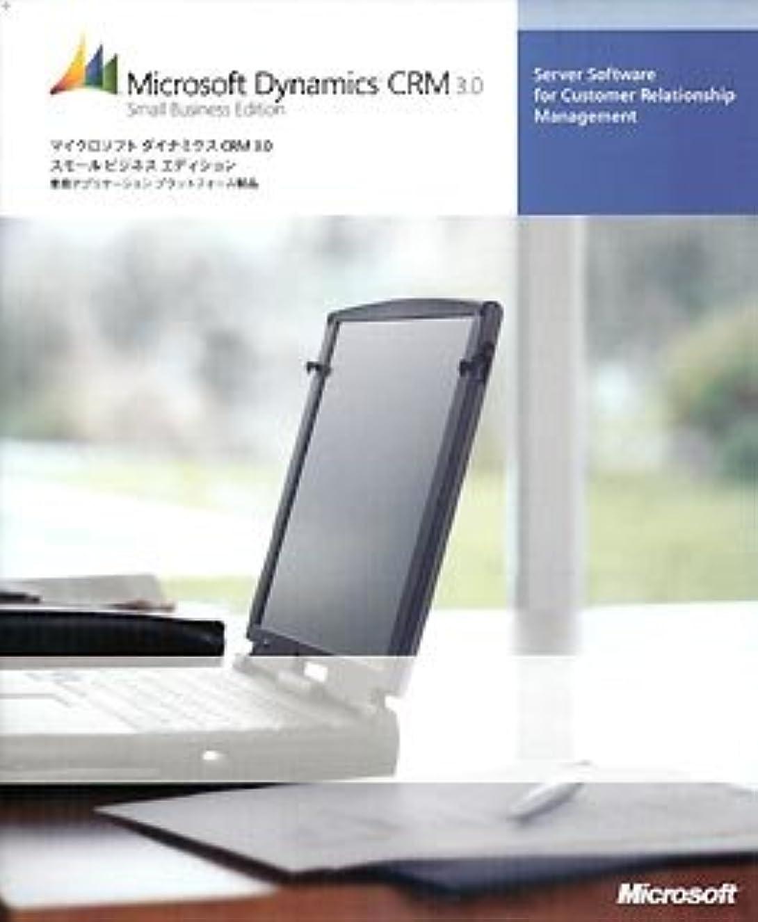 影のあるボルトチャンバーMicrosoft Dynamics CRM 3.0 Small Business Edition