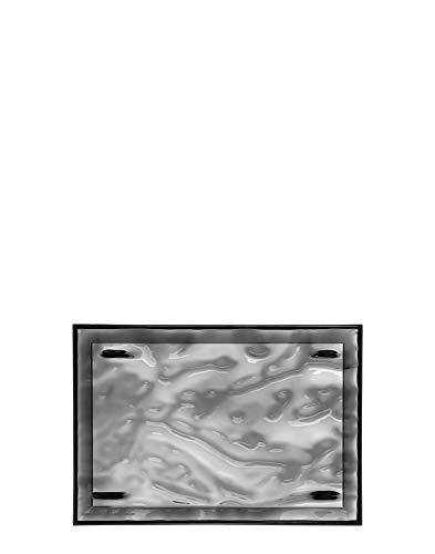Kartell Plateau Dune Petit, Plastique, Fumé, 46 x 32 x 2.5 cm