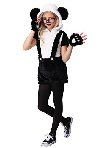Hip Panda Costume for Girls Kids Panda Outfit Medium