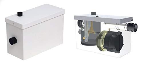 Sanivelox Plus Cerit - Bomba elevadora de agua gris