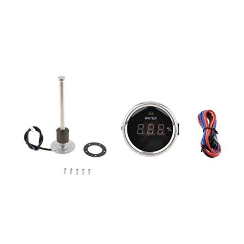 D DOLITY Sensor de Nivel de Agua Medidor de Nivel Acero Inoxidable Repuesto para Barco