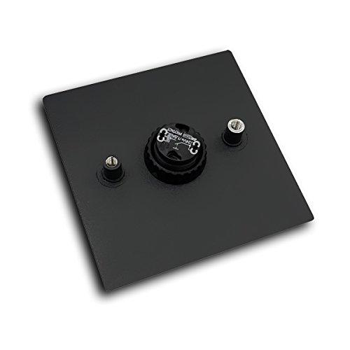 MOCAVI RING 110 Edelstahl-Design-Klingel signalweiß matt RAL 9003 quadratisch, Klingeltaster - 2