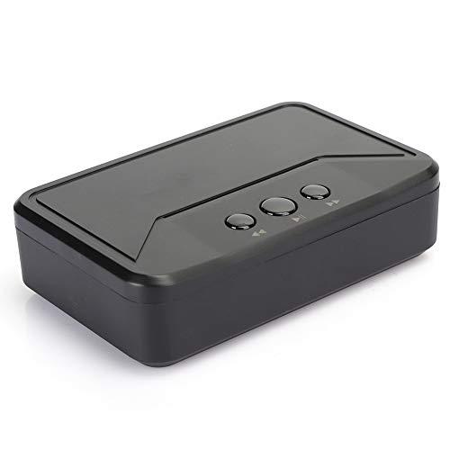 Transmisor, receptor 5.0 Máquina de conmutación totalmente automática instalada en el automóvil para escuchar música de forma inalámbrica en los altavoces(negro, Tipo de torre inclinada de Pisa)