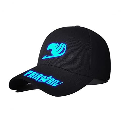 Q4S Fairy Tail Hut Männer Frauen Erwachsene Hip-Hop-Kopfbedeckung Im Freien Beiläufige Sonne-Baseballmütze