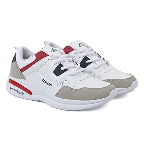 ASIAN Men's Waterproof-11 Running Shoes for Men I Sport Shoes for Boys with Eva Sole for Extra Jump I Casual Shoes for Men