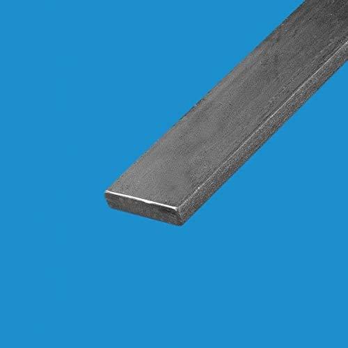 Commentfer - Fer plat acier 40mm Epaisseur en mm - 3 mm, Longueur en metre - 2 metres, Sections en mm - 40 mm