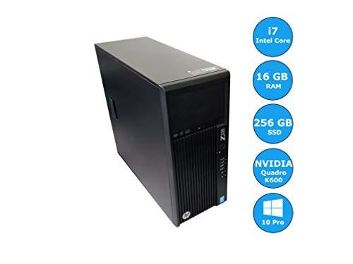 HP Workstation Z230 (Intel Core i7-4790 | 16 GB RAM | NVIDIA Quadro K600 | 256 GB SSD | Win 10 Pro) - (Zertifiziert und Generalüberholt) uadro K600 | 256GB SSD