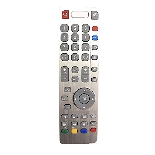 ZOUD Fernbedienung kompatibel mit Sharp Aquos TV Fernbedienung mit Perfect Netflix TV Fernbedienung