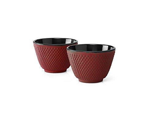 Mug (2 pcs) XILIN ROJO hierro fund. (Antes BG011R)