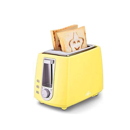 LIAO Tostadora eléctrica hogar automático panificadora Fabricante de Desayuno máquina de Tostadas Sandwich Grill Horno de 2 rebanadas,C