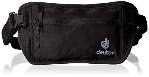 Deuter Security Money Belt I Hüfttasche, Black, 12 x 24 x 1 cm