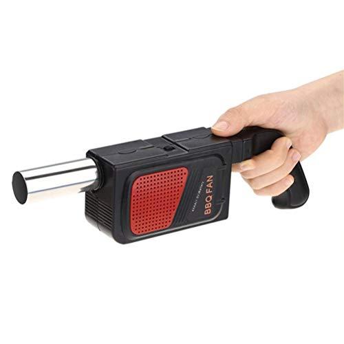 GDDFG Herramienta de cocina Ventilador eléctrico para barbacoa, Ventilador de aire para barbacoa, Ventilador de fuego para cocinar, Adaptador de ventilador para barbacoa, Ventilador eléctrico para ext