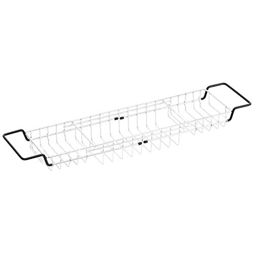 AmazonBasics, vassoio portaoggetti da vasca, modello a griglia