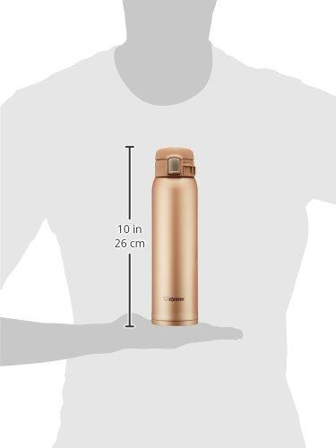 飲み口に空気の通り道を設け、スムーズに飲み物を飲むことができる象印のステンレスボトル。蓋の部分には、空気断熱層があり、結露しにくくなっています。内部はフッ素コートされており、水切れがよく、茶渋やコーヒーの色がつきにくく、衛生的に保つことができます。