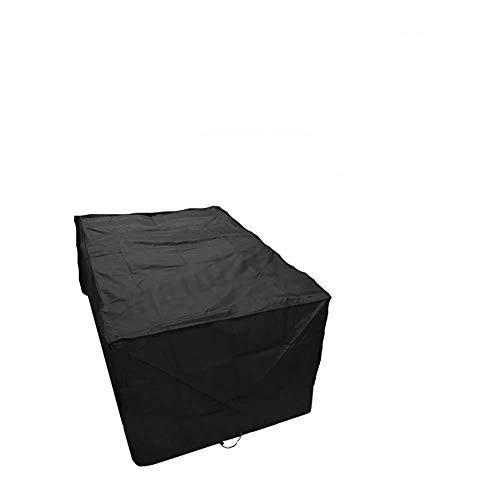 Y&D L Shape Garden Sofa deckt wasserdichte, wasserdichte, undurchlässige Sonnencreme, rechteckige Staubhülle mit kostenlosem Ablagerungsbeutel Möbel Sofa Tischschutz für den Garten im Freien Patio Hom