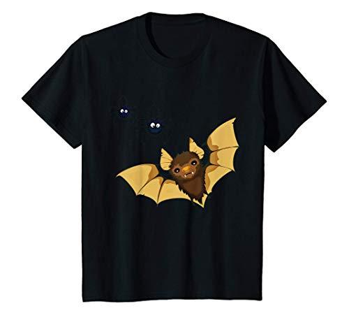 Niños Lindo disfraz de murciélago y arañas para niños de Halloween Camiseta