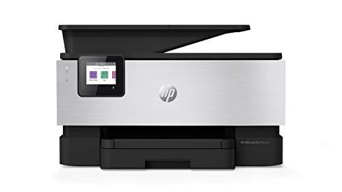 HP OfficeJet Pro 9019 Multifunktionsdrucker (HP Instant Ink, A4, Drucker, Scanner, Kopierer, Fax, WLAN, LAN, Duplex, HP ePrint, Airprint, mit 12 Monaten HP Instant Ink Inklusive) Aluminium