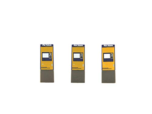 Rietze freesstiften NS Groep NV, Ticket machine-model