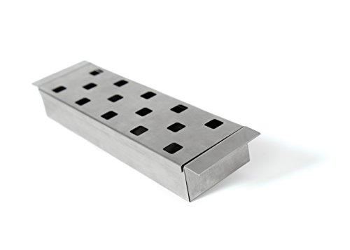 Broil King Smokerbox, 33,5x8,5x4,5cm. Grill-/Grillzubehör, Edelstahl, 5 x 5 x 5 cm