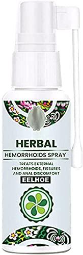 WWYCDD Natuurlijke Herbal Aambeien Spray, 100% natuurlijke formule 30ml, Kalmerende verlichting, kalmeert jeuk branden, zacht, werkt snel, voor interne externe behandeling (1PCS)