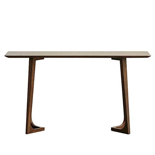 ZzheHou Konsolensofatische Einfache Massivholz-Konsolentisch an der Wandkonsole-Tabelle hölzerner schmaler Beistelltisch (Farbe : Multi-Colored, Size : 100x35x80cm)