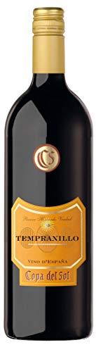 Copa del Sol Temranillo Merlot Halbtrocken (1 x 1 l) Rotwein aus Spanien