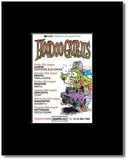 Music Ad World Hoodoo GURUS - UK Tour 2007 Mini Poster - 13.5x10cm
