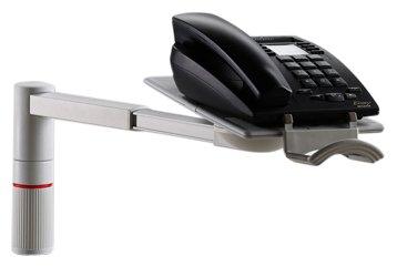 Novus ScopeMaster Telefon-Schwenkarm 2 kg lichtgrau
