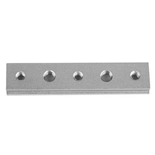 Dado scorrevole a T, Mitra T Track in lega di alluminio Traccia Jig T Slot per la tabella Saw Router Tavolo Strumento di lavorazione del legno,M8 M6 (100MM)