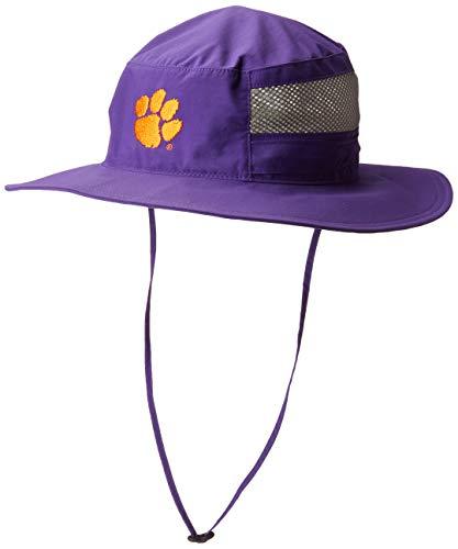 NCAA Clemson Tigers Men's Bora Bora Booney II, One Size, CLE - Vivid Purple