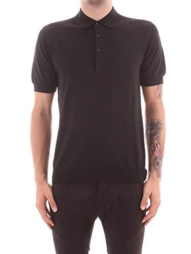PAOLO PECORA A007 F100 T-Shirt Uomo Nero XL