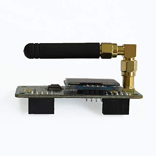 MMDVM Hotspot Board + OLED Display + Aluminium Case Support UHF VHF Support P25 DMR YSF DSTAR NXDN POCSAG für Raspberry Pi-Zero W, Pi 3, Pi 3B+