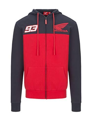Sudadera con capucha para hombre Honda Marc Marquez Small rojo