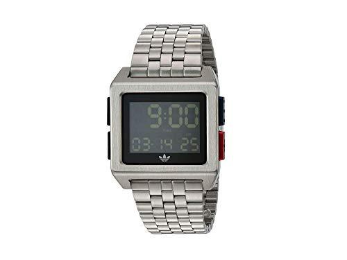adidas Relojes Hombre Archive_M1. 70 Es El Estilo De Acero Inoxidable Reloj Digital Con 5 Pulsera (Todo 0,36 Mm)
