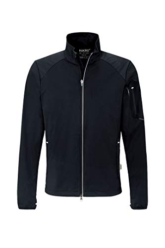 Hakro Light-Softshell-Jacke Brantford, HK856-schwarz, L