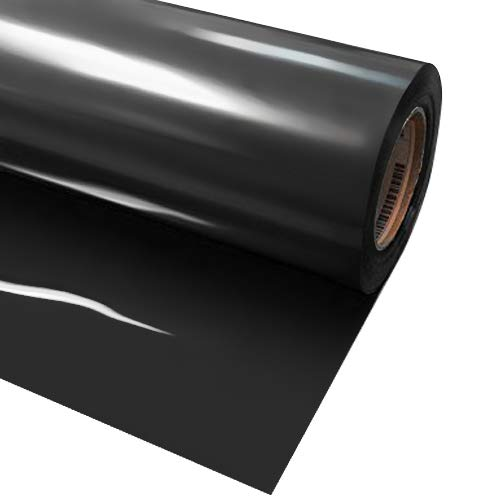 vvivid + schwarz Premium Line Wärmeübertragung Vinyl Folie für Cricut, Silhouette & Cameo 12