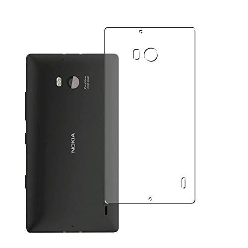 Vaxson 2-Pack TPU Pellicola Protettiva Posteriore, compatibile con NOKIA Lumia 930, Back Film Protector Skin Cover Copertina [ Non Vetro Temperato ]