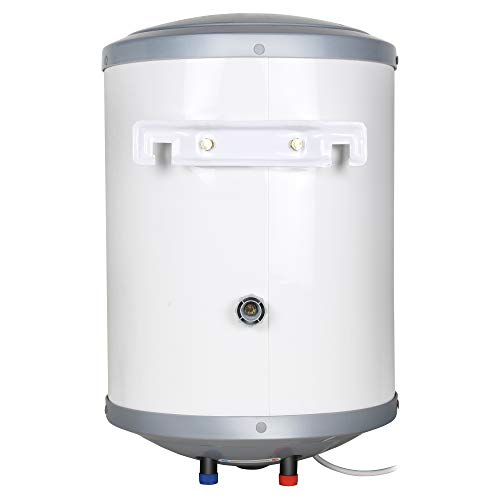 Faber 10Ltr Storage Water Heater (FWG Vulcan 10V), 5 Star, 7 yrs Warranty on Tank, Free Installation with Inlet & Outlet Pipe, White