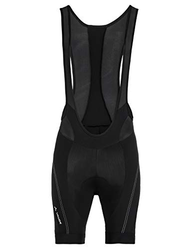 VAUDE Herren Hose Men's Pro Bib Pants III, Träger-Hose für den Performance-Radsport, black, 52, 414250105400