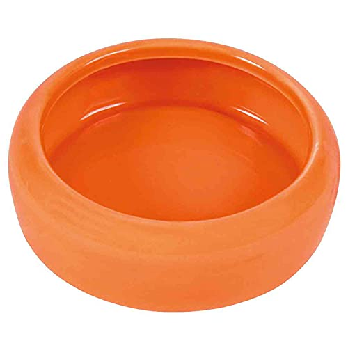Trixie Bol de cerámica con borde redondeado para hámster, 100ml, colores surtidos, 1 unidad