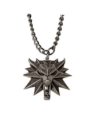 Horror-Shop The Witcher Wild Hunt Halskette mit LED Augen