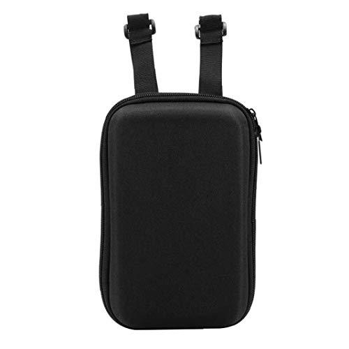 Hiinice Vespa Bolsa de Almacenamiento eléctrico Delantero Vespa Vespa Bolsas Colgantes EVA Bolsa Compatible con Xiaomi M365 Negro