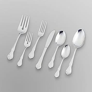 Oneida 42 Piece True Rose Stainless Flatware SetÉ